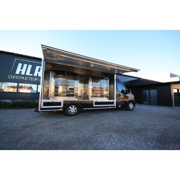 Camion magasin rôtisserie SUPER PRESTIGE Nissan NV400 DOREGRILL