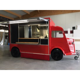 Remorque food truck HY RED Edition